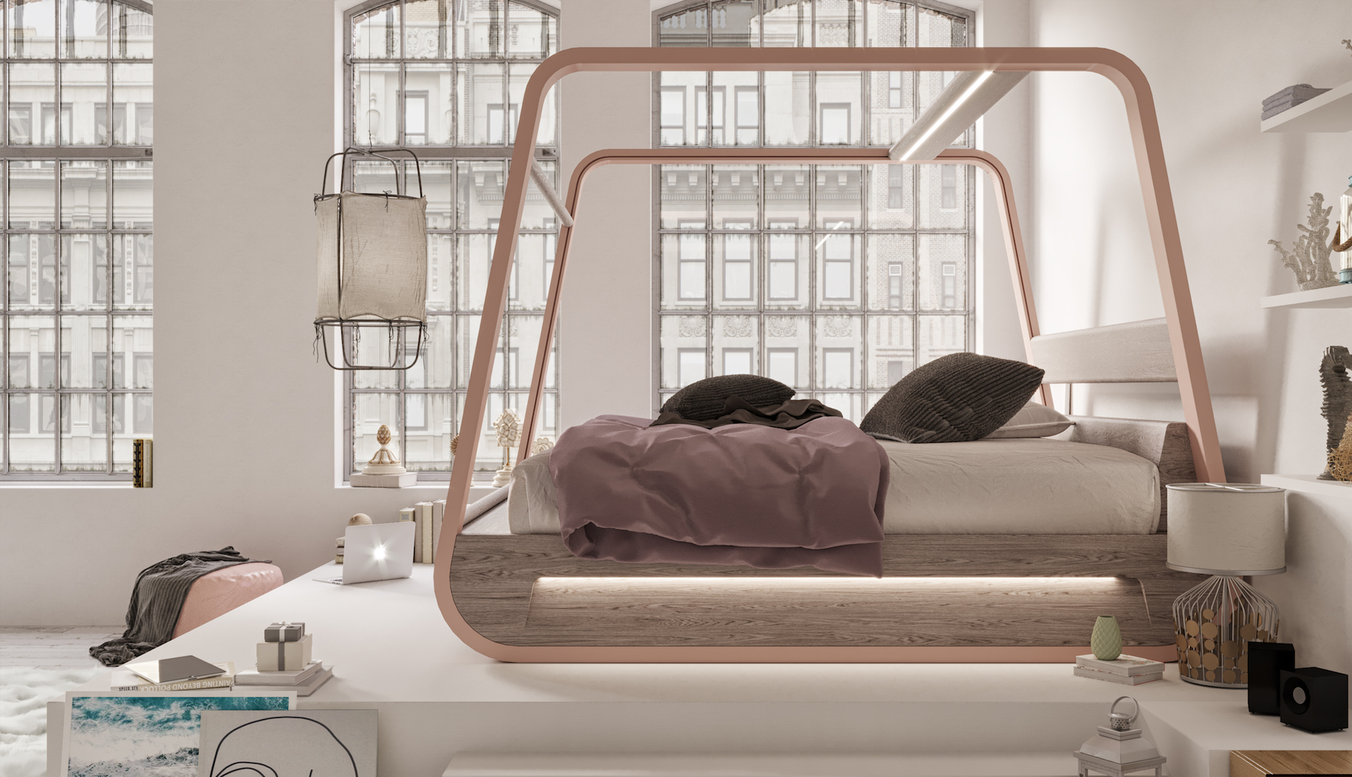 High Tech Smart Bed With Built In Tv Designs Amp Ideas On