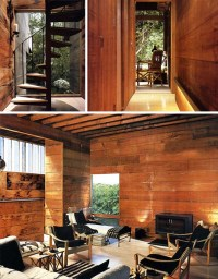 Literal Treehouse: Modern All-Wooden Home in the Forest