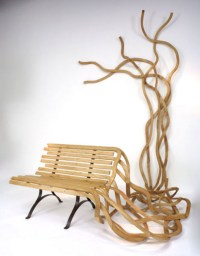 Artistic Furniture: Creative Custom Wood Benches & Chairs