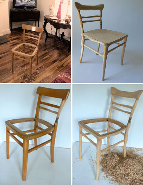 cheap wood chairs drive diamond deluxe rollator transport chair walker upcycling furniture custom whittled craft carved wooden