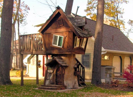 Historical Tree House Fort Restaurant & Resort Designs