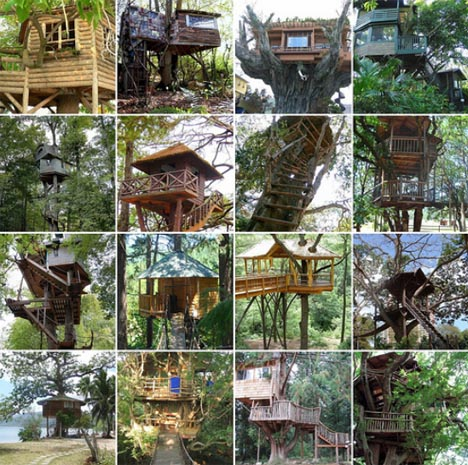Custom Tree House Plans DIY Ideas & Building Designs
