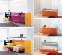 Convertible Furniture: Cool Couch, Desk & Bed Designs