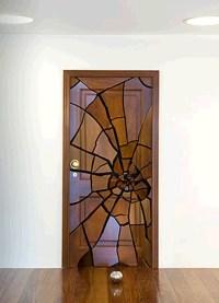 Rough (Framed) Door (Art): (De)Con(Struction) of Wood