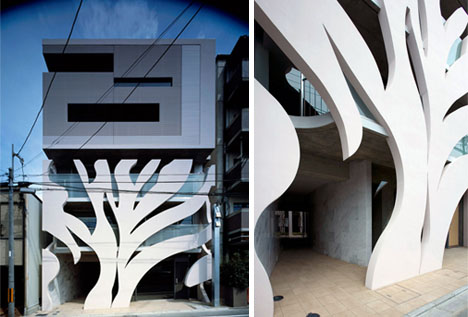 Modern Organic Architecture Hybrid Urban Housing Units