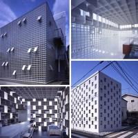 """Casas """"cubo""""Japonesas"""