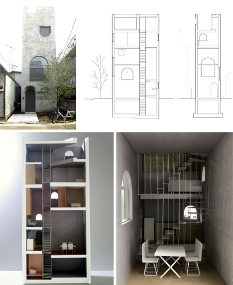 Tiny Houses & Little Lots Floor Plans For Very Small Homes