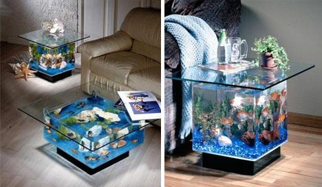 5 cool modern fish tank designs