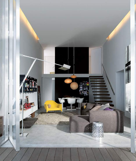 Small Spaces in Style Furniture Design  Decorating Ideas