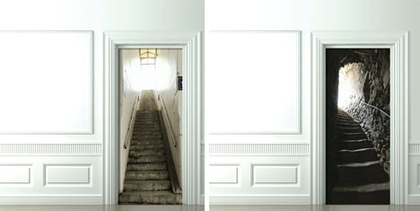 3D Door Decals: Photo
