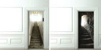 3D Door Decals: Photo-Sticker Decor for Inside-Room Doors