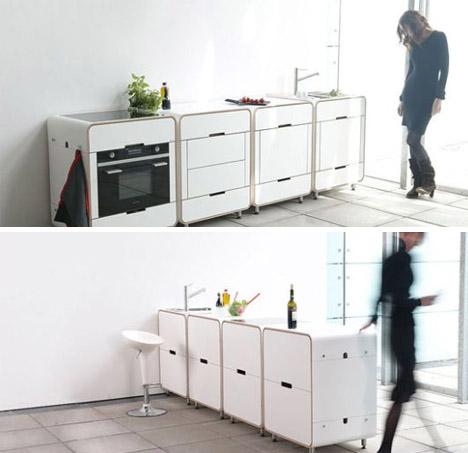 Cooking A La Carte 4 Modular Mobile Kitchen MiniIslands