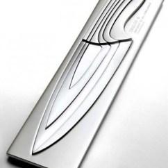 Kitchen Knives Sets Backsplash Trim Ideas Nesting Chef S Scary But Clever Cutlery Set Aside