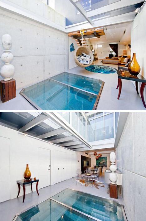 SpaceSaving Spa Small IndoorOutdoor Living Room Pool