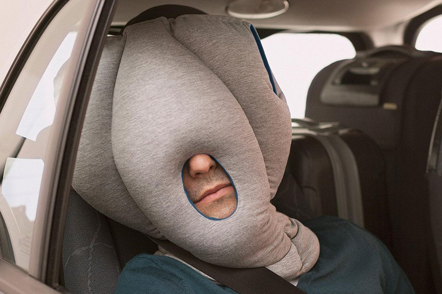ostrich inspired pillow for napping