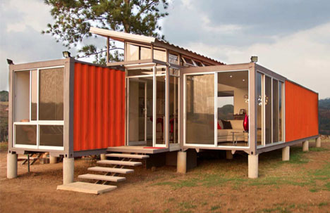 Containers Of Hope Cheap Modern Cargo Container Home