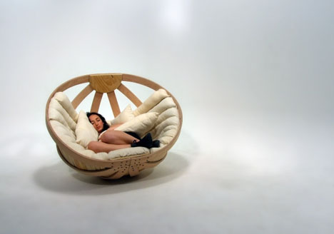 rocking chair and cradle in one plastic chaise lounge chairs big basket seat rocks adults gently to sleep