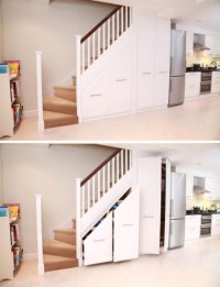 Stair into Space: 5 Custom Under-Staircase Storage Systems