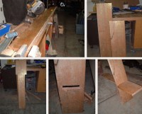 2 Boards, 1 Seat: Simple DIY Two-Plank Chair Construction