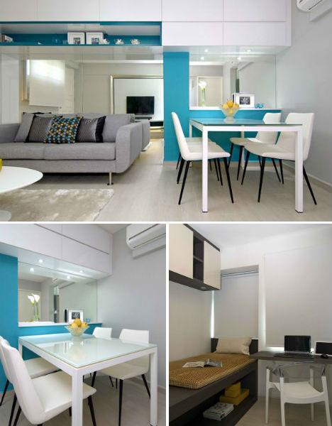 Singapore Micro Apartment Transformation Designs Amp Ideas