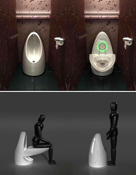water-saving all-in-one integrated toilets of the future