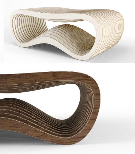 Organic Modern Furniture Made Digitally on Demand