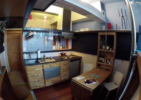 Micro Apartment Interior