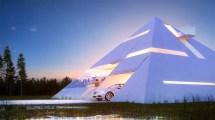 Futuristic Pyramid House Design & Ideas Dornob