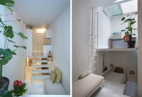 Micro Apartment Uses Tiers to Maximize Tiny Living Space