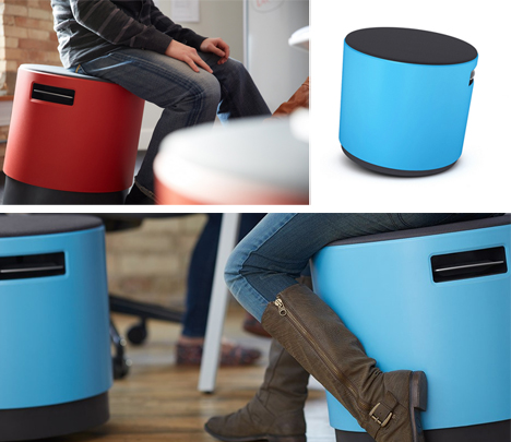 Wobble Spin  Tilt Buoy Chair Promotes Active Seating