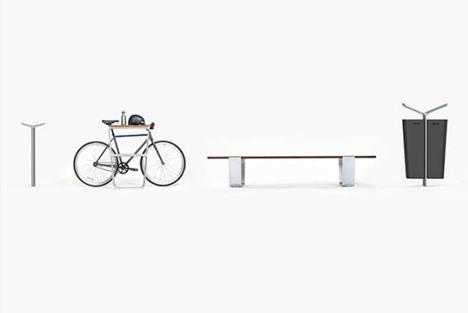 Modular Outdoor Furniture Lets Cities Customize Fixtures