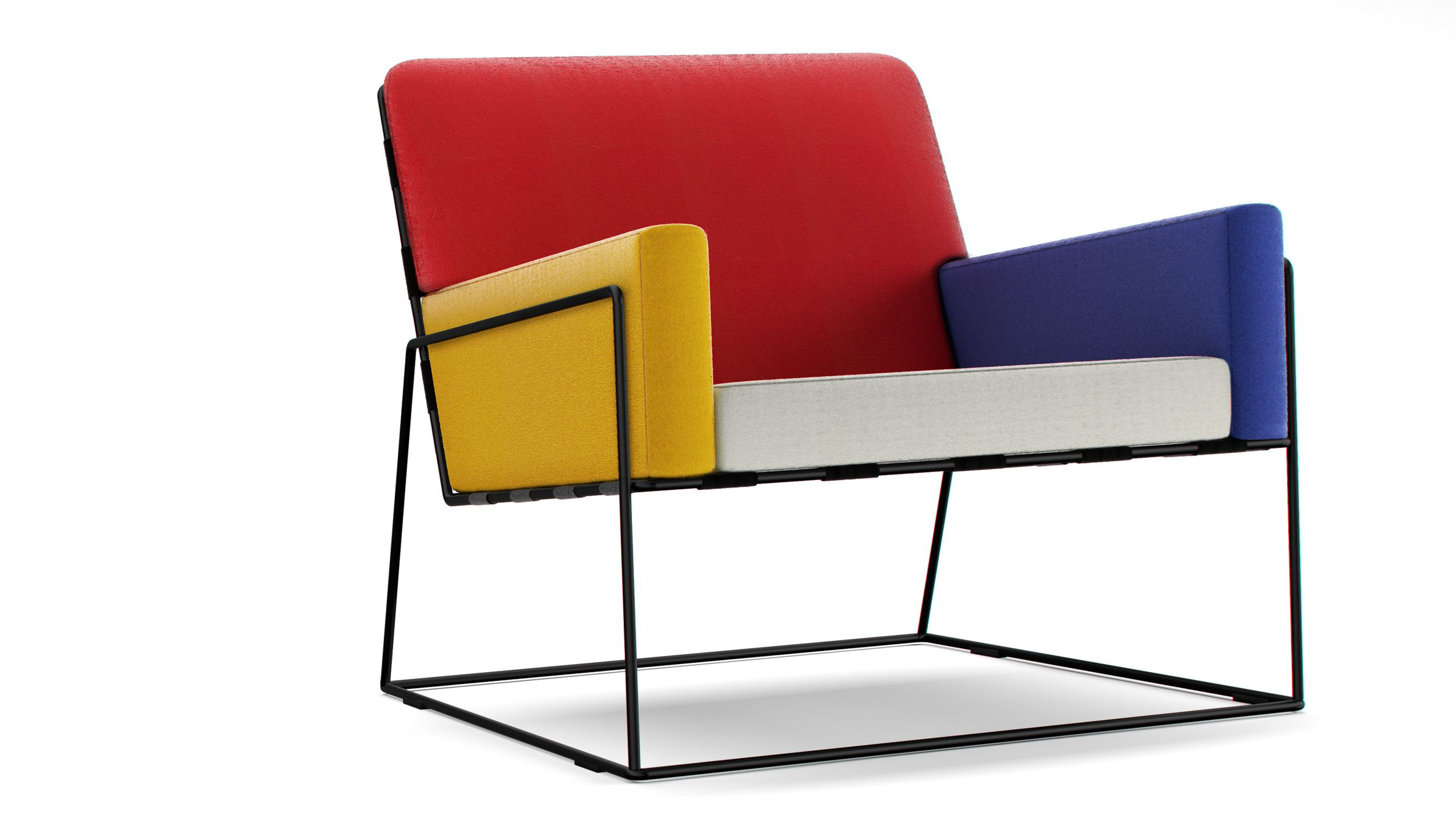 chair designer charles hanging base mondrian mashup for the home
