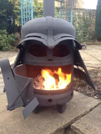 Darth Vader Fire Pits