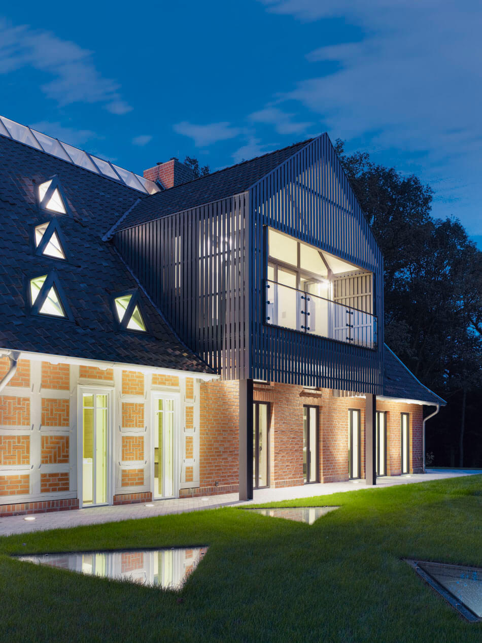 Modern And Classic Meet Renovated German Country House