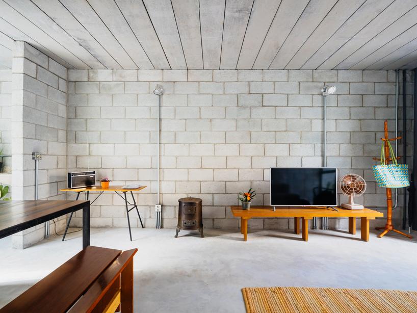 LowCost Concrete Block House in Brazil  Designs  Ideas on Dornob