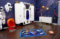 Sleep in a Spaceship: Amazing Fantasy Murphy Beds for Kids