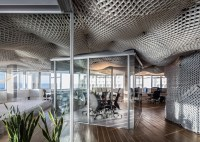 Billowing Sky Ceiling Shows Off Versatile Structural ...