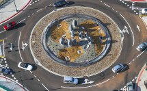 Faces Of La' Sustainable Roundabout