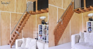 Incredible Sub Compact Stair Design Saves You Space Unlike ...