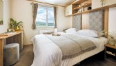 MODERN AND AIRY MASTER BEDROOM WITH DOUBLE WARDROBES AND AN EN-SUITE TOILET