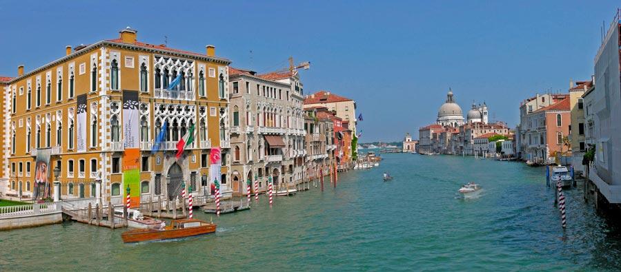 Венеция достопримечательности за 2 дня -  Панорама Канале Гранде