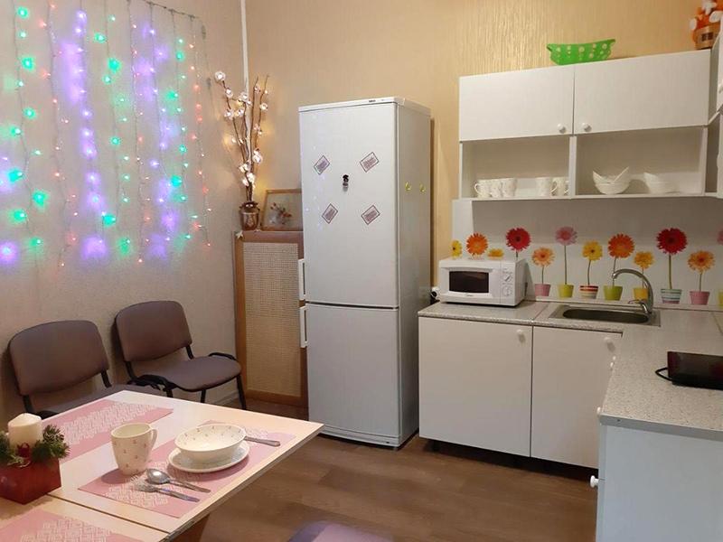 Хостел «Аккорд 24». Общая кухня