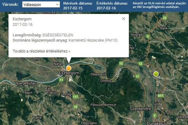 esztergom hajóállomás térkép Egészségtelen Esztergom levegője – Dorogi medence Regionális Hírportál esztergom hajóállomás térkép