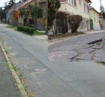 Elkezdődtek a Bimbó utca rekonstrukciós munkálatai