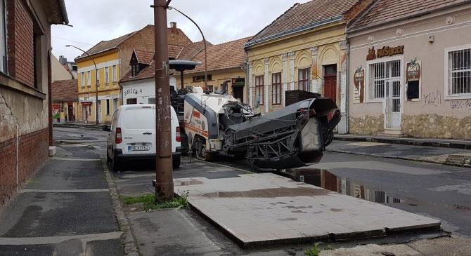 Elkezdődött az egykori piac utca közműfelújítása