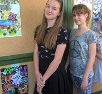 Dorogi Eötvös iskolások a képzőművészeti versenyen