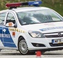 Autós üldözés Esztergomban