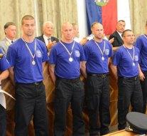 Dorogi Richteres tűzoltók az élen