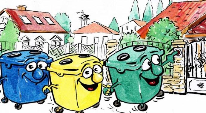 Szelektív hulladékgyűjtés térségünkben