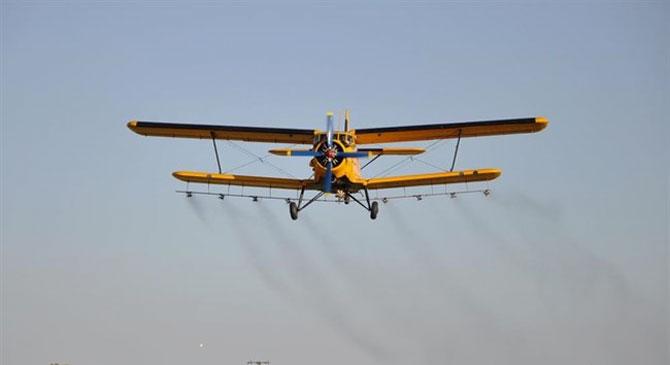 Légi és földi szúnyoggyérítés térségünkben